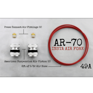 AR-70/49A Fork Tube Air Ride Kit