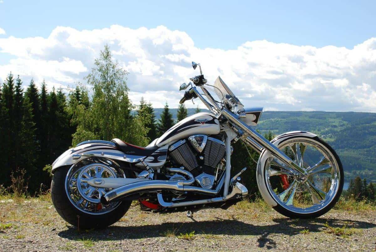 Victory Motorcycle Photo Gallery - Platinum Air Suspension