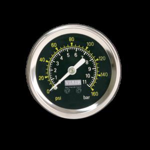1.5 Inch Black Pressure Gauge
