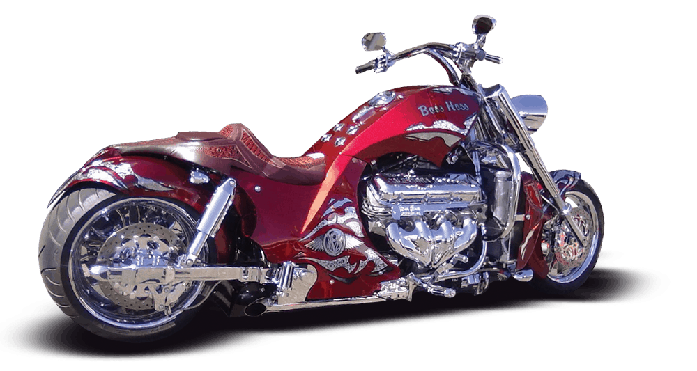 Boss Hoss Custom Bagger Gallery