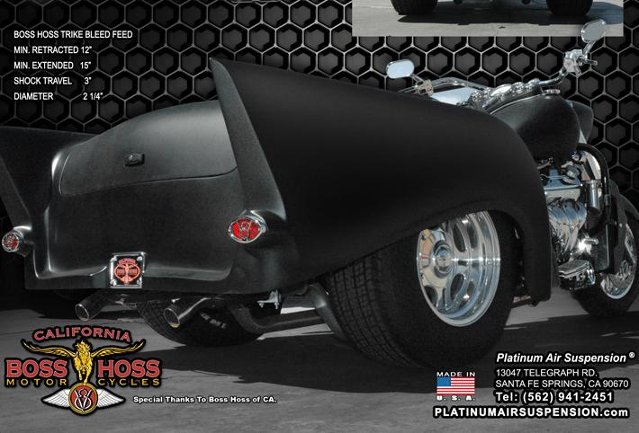 Boss Hoss Motorcycle Gallery Platinum Air Suspension