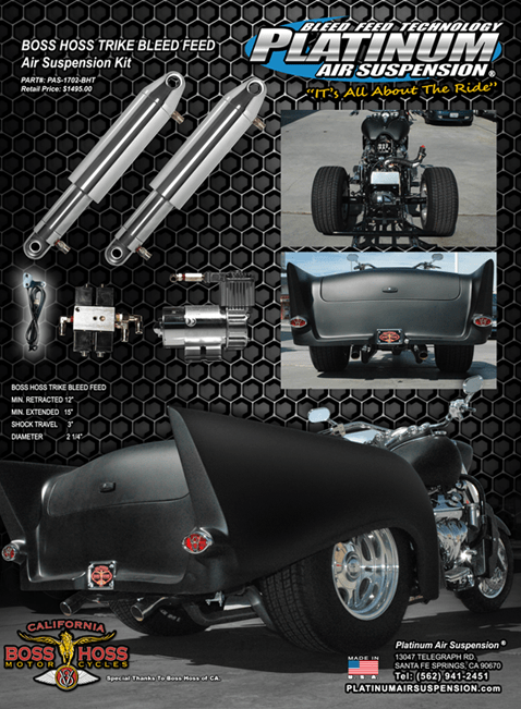 Boss Hoss Motorcycle Photo Gallery Platinum Air Suspension