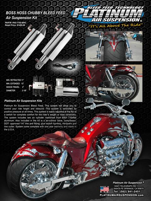 Boss Hoss Motorcycle Photo Gallery Platinum Air Suspension