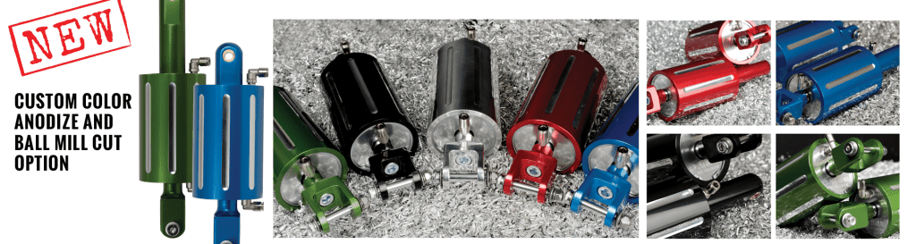 Platinum Air Suspension Anodized Options