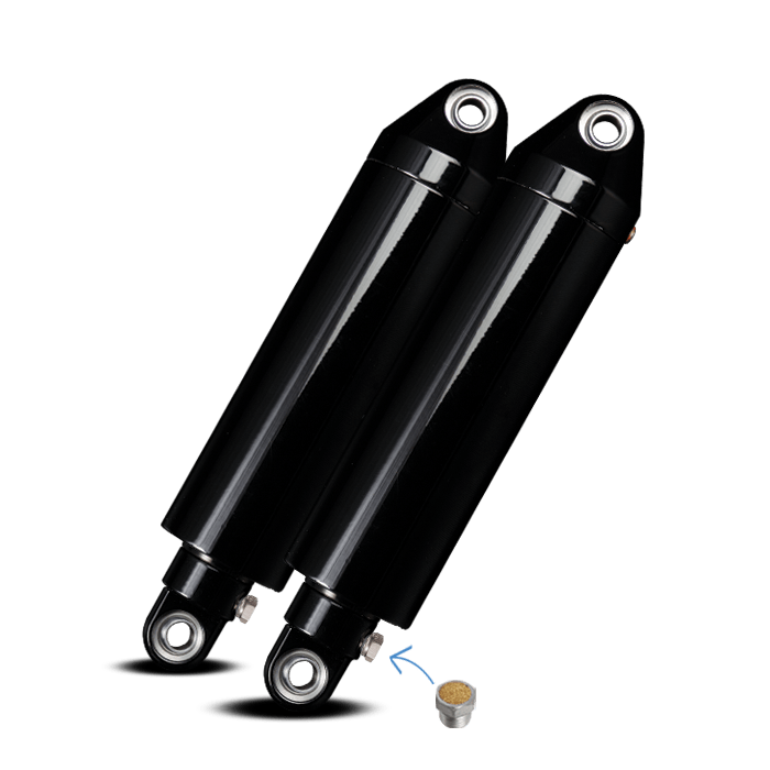Sportster  Dyna Air Ride Suspension Kit Only At Platinum
