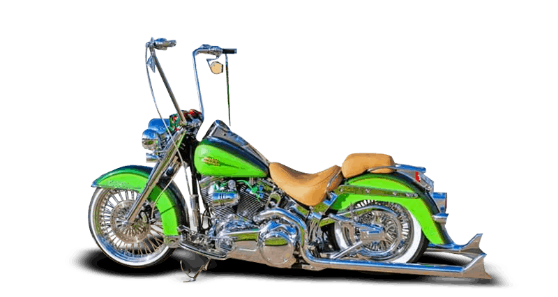 Air Ride for Harley Davidson Deluxe Custom