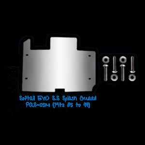 Softail EVO Stainless Steel Splash Guard