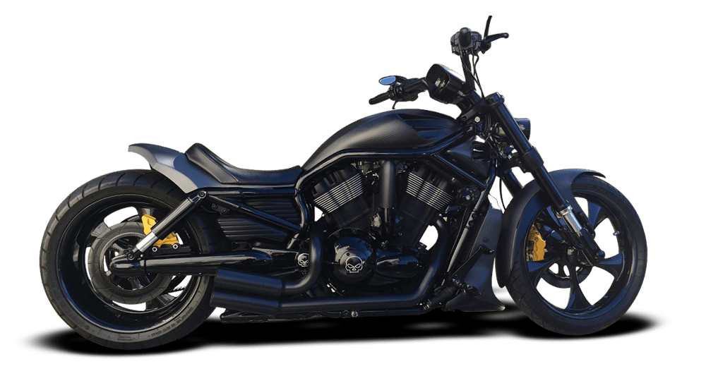 Air Ride Harley Davidson VRod Muscle